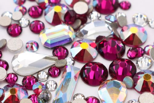 Swarovski Mixed Colour & Shape Pack July Birthstone Collection 155pcs